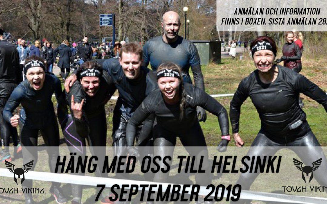 Genomför Tough Viking i Helsinki med oss 7 september!