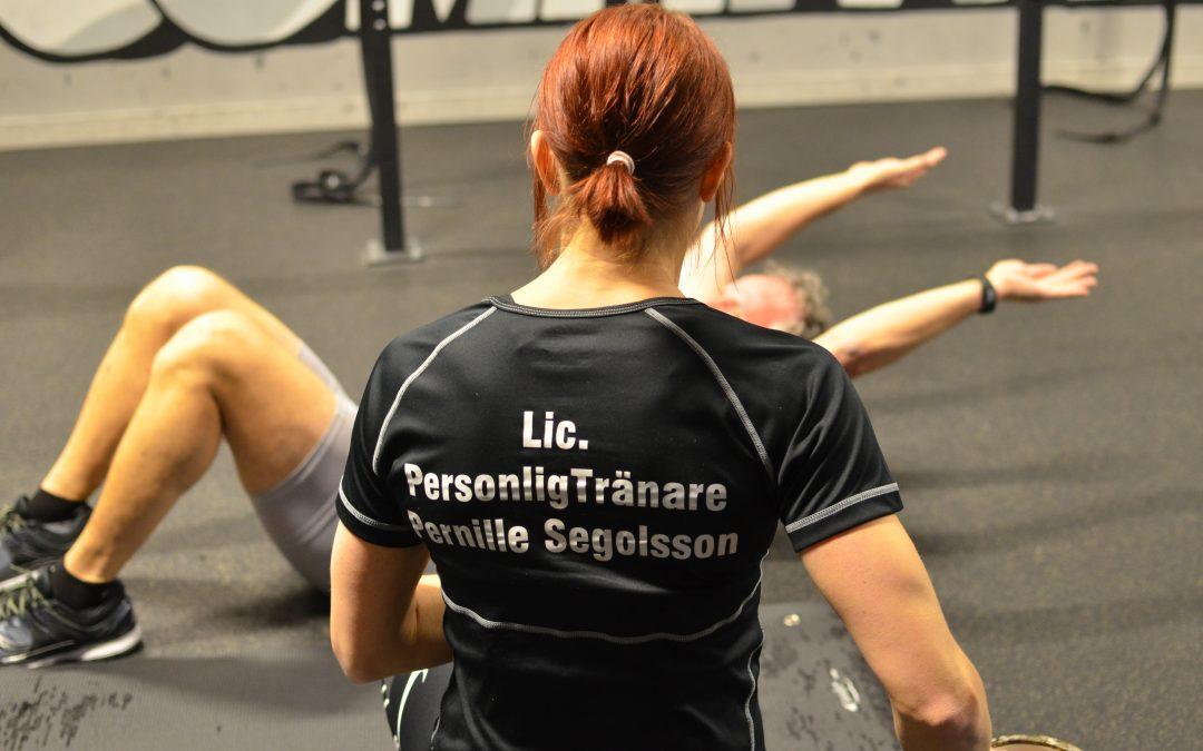 Pernille startar en ny Weight Trainer PRO kurs